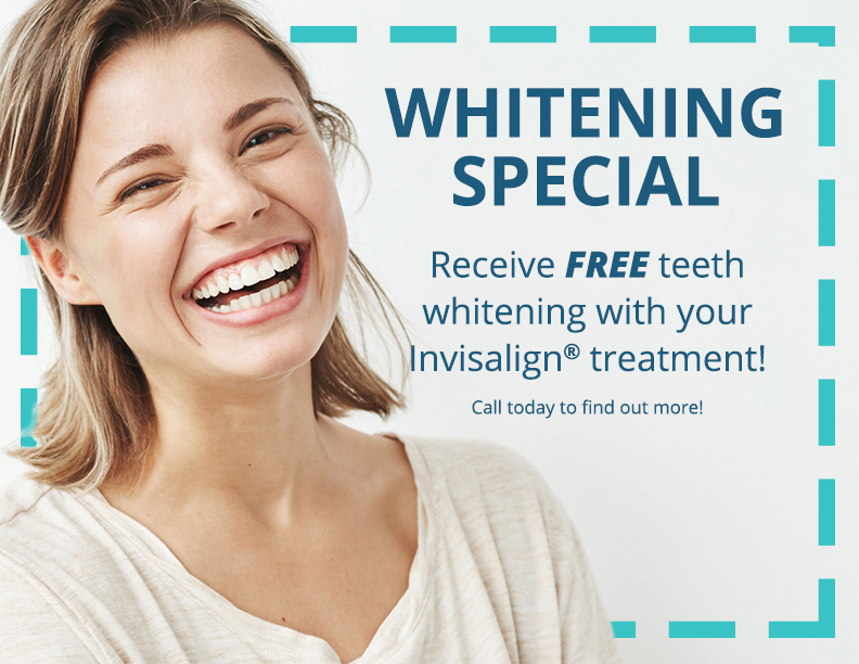 Hodges Orthodontics teeth whitening special offer